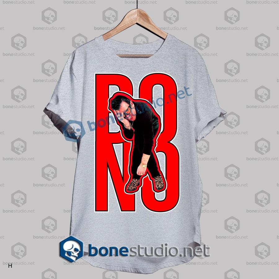 U2 Bono Expression Band T Shirt