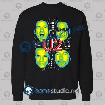 U2 Cover Photo Band Sweatshirt