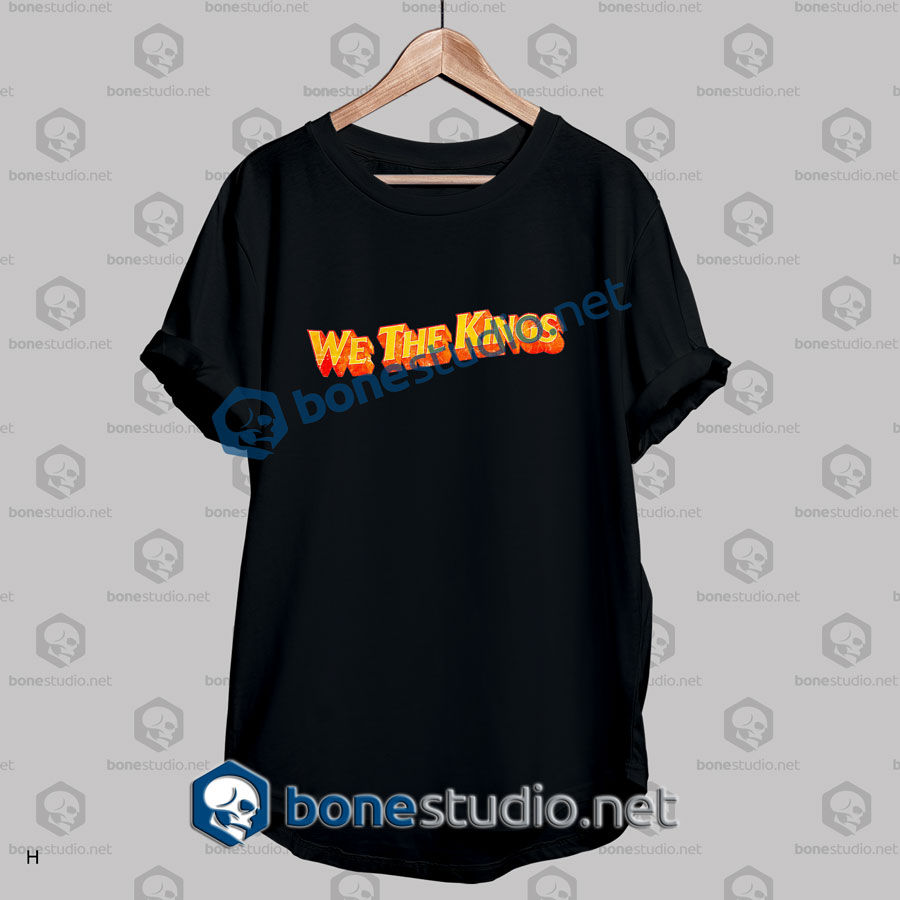 We the kings quote band t shirt adult unisex size s 3xl for We the kings t shirts