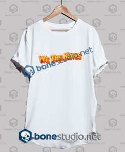 We The Kings Quote Band T Shirt
