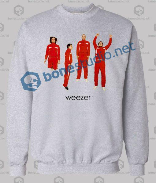 weezer band sweatshirt