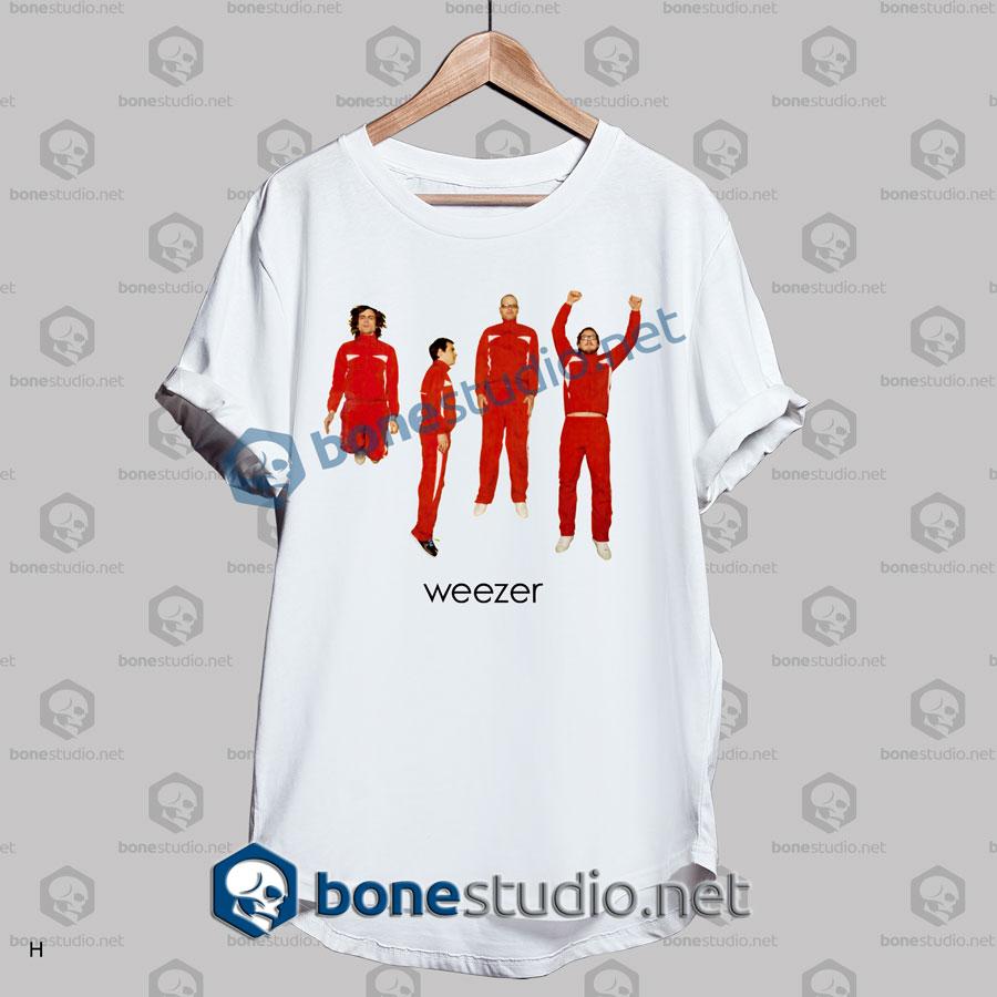 weezer band t shirt