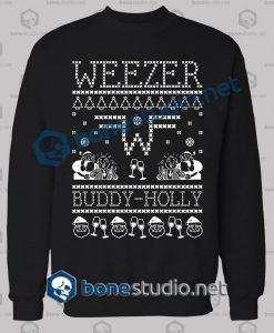 Weezer Band Ugly Sweater Sweatshirt