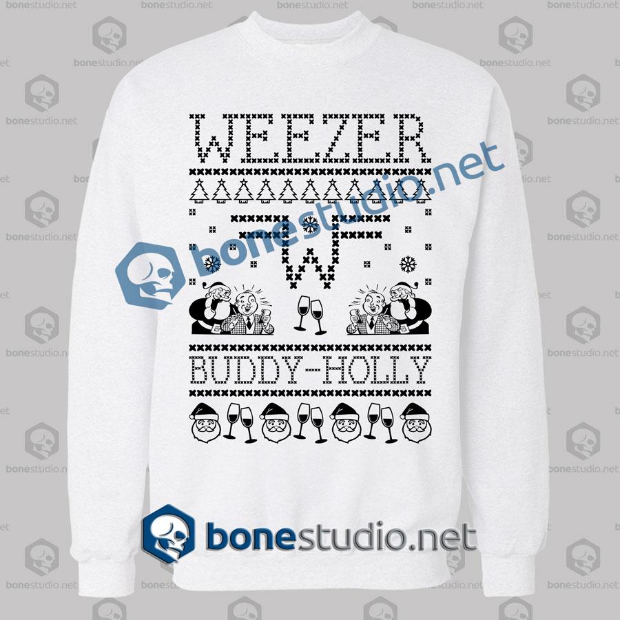Weezer Christmas Sweater.Weezer Band Ugly Sweater Sweatshirt Unisex Size S M L Xl 2xl 3xl