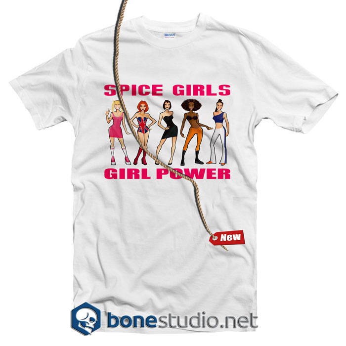 Girl Power Spice Girl T Shirt