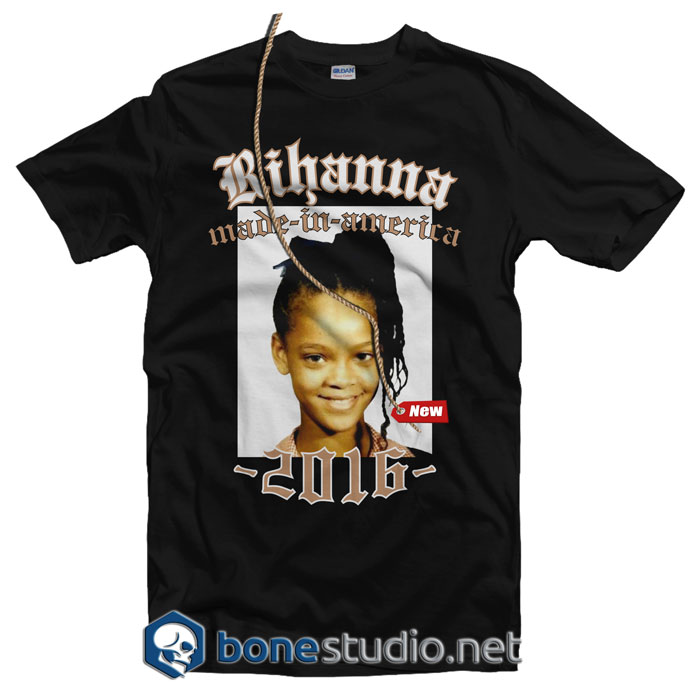Rihanna Made In America Tour 2016 Band T Shirt