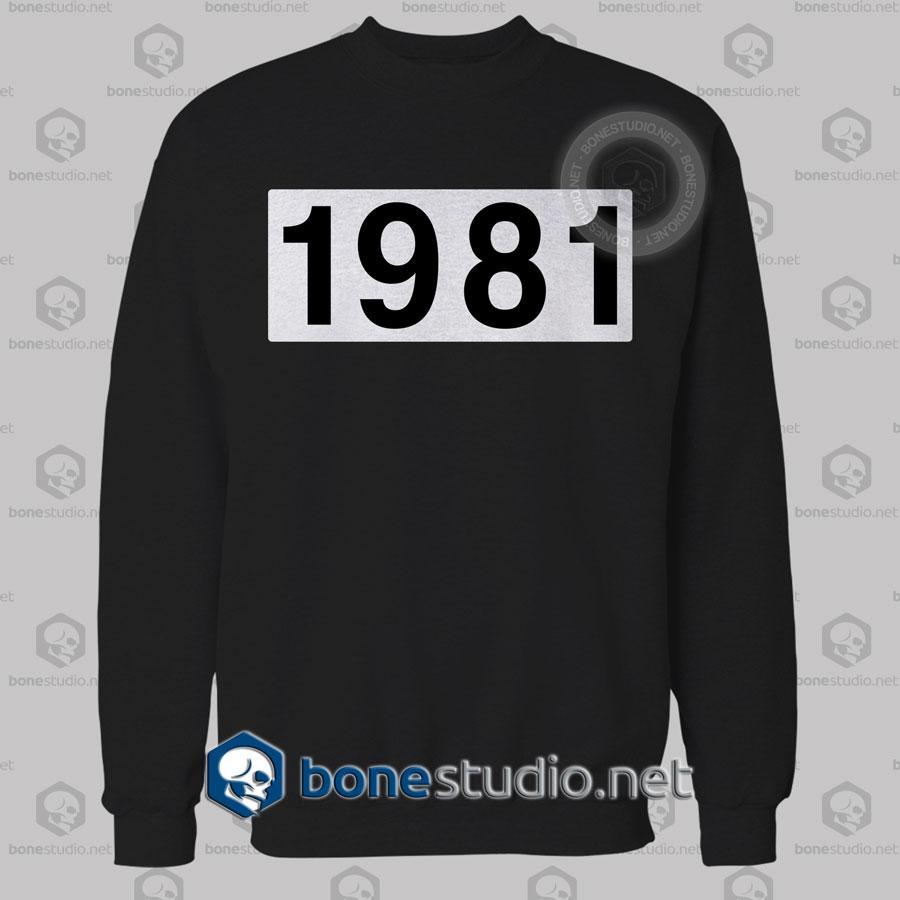 1981 Sweatshirt