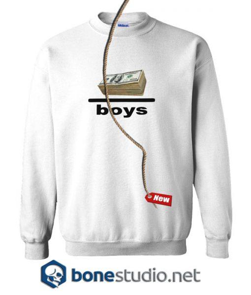 Money Over Boys Sweatshirt