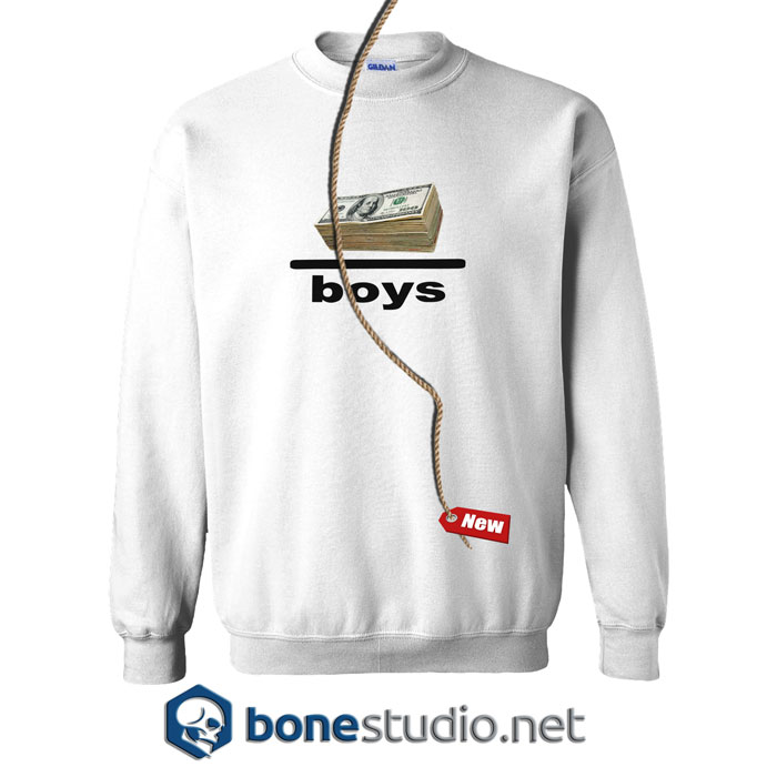 Money Over Boys Sweatshirt