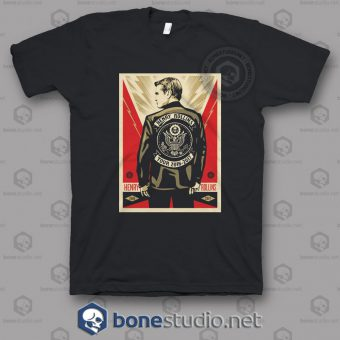 2016 2017 Henry Rollins Band T Shirt