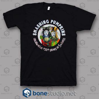 20th Anniversary Tour 2008 Smashing Pumpkins Band T Shirt