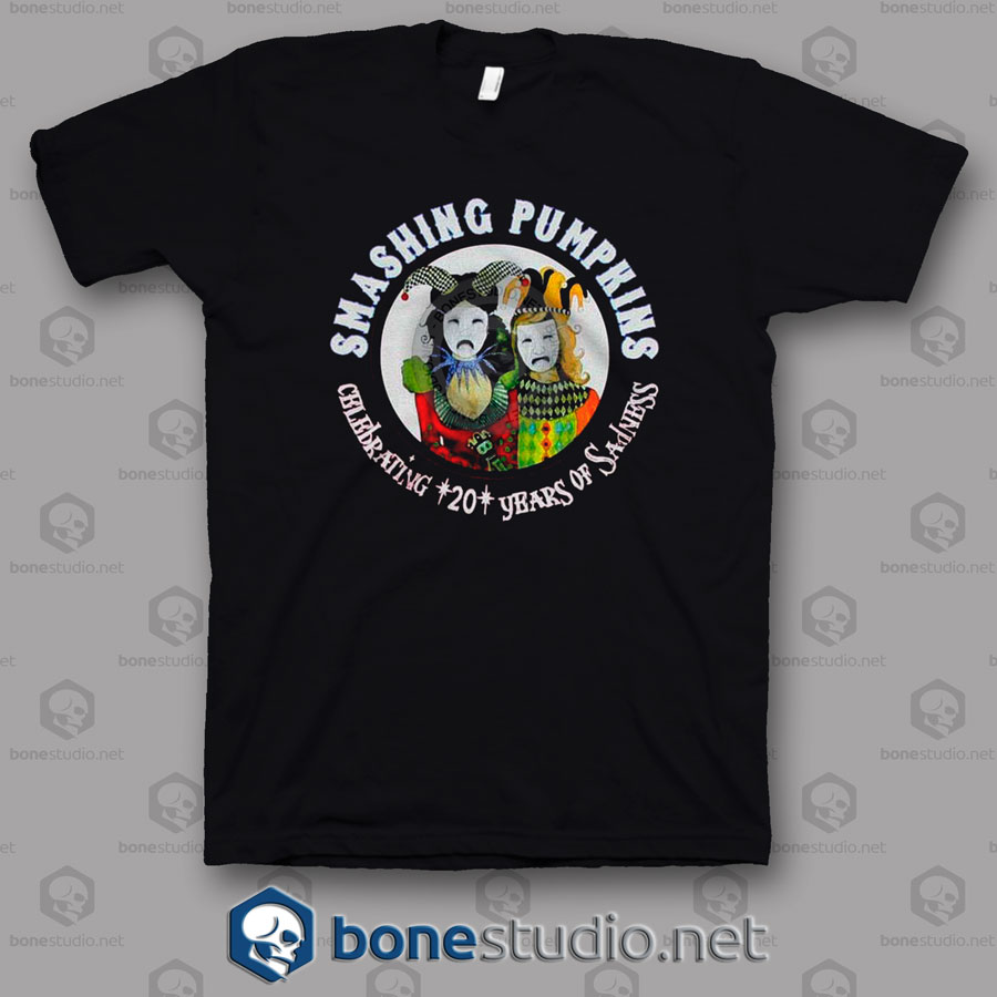 20th Anniversary Tour 2008 Smashing Pumpkins Band T Shirt