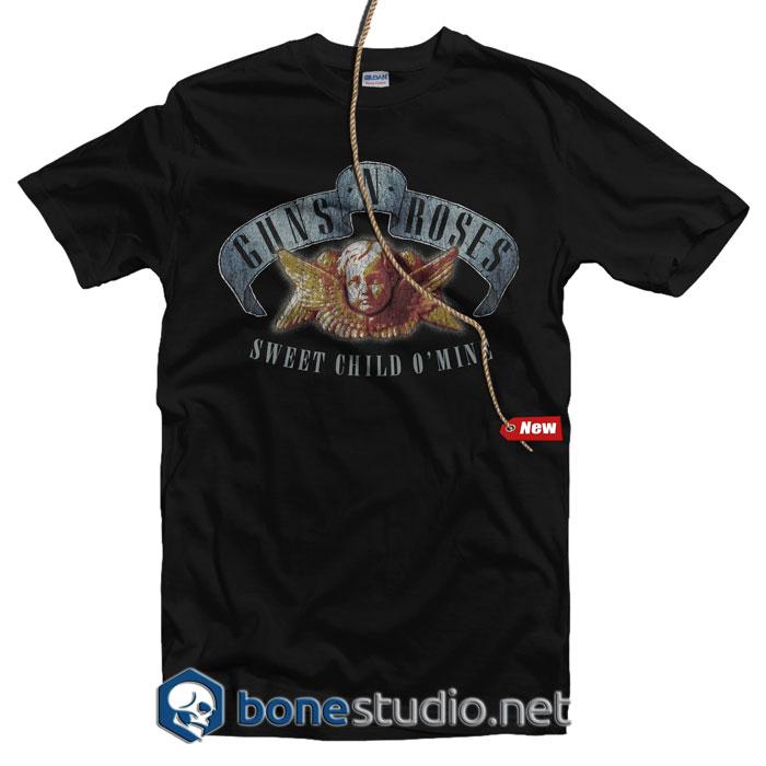 Sweet Child Guns N Roses Band T Shirt
