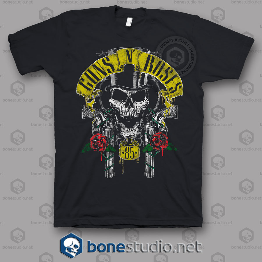 85 Guns N Roses Band T Shirt