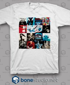 Achtung Baby U2 Band T Shirt