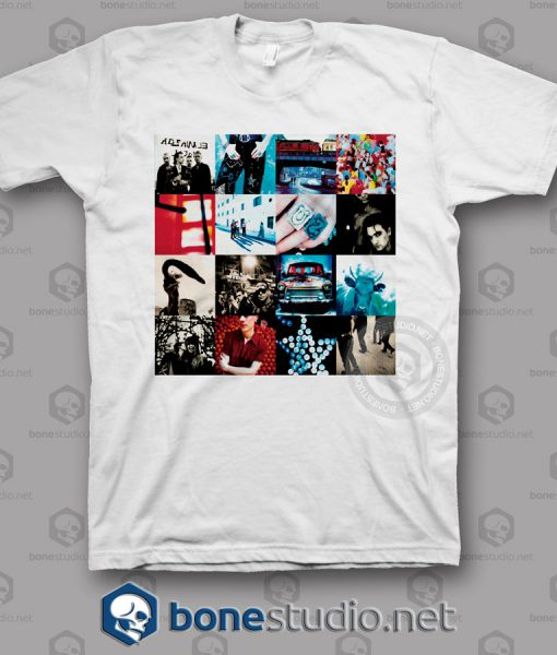 Achtung Baby U2 Band T Shirt
