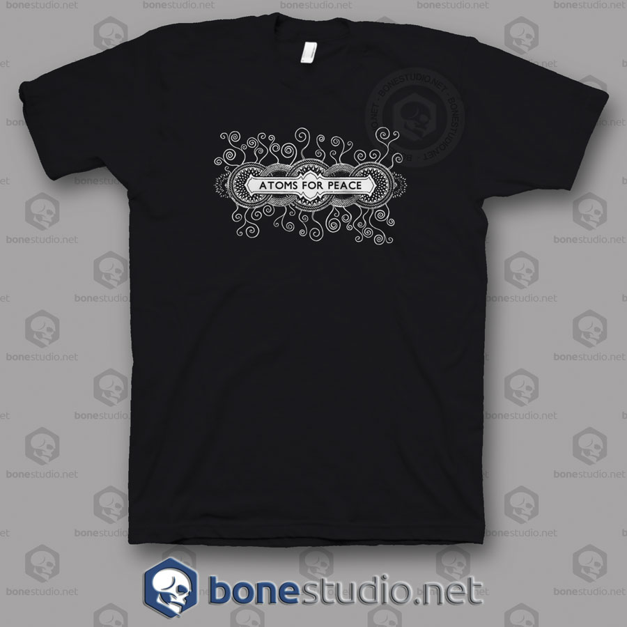 777b4e8f7 Atoms For Peace Thom Yorke Radiohead Band T Shirt - Adult Unisex ...