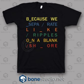 Because In Rainbow Radiohead Band T Shirt
