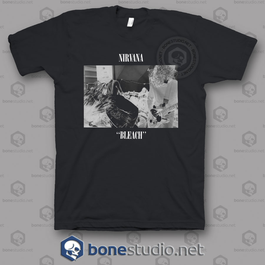 Bleach Club Nirvana Band T shirt