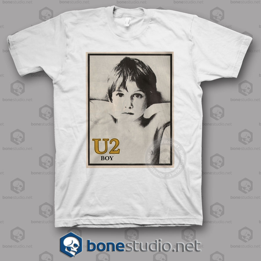 Boy U2 Band T Shirt