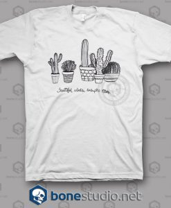 Cactus Beautiful Minds T Shirt