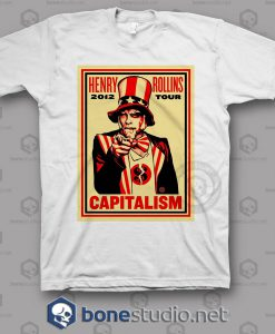 Capitalism Henry Rollins Band T Shirt