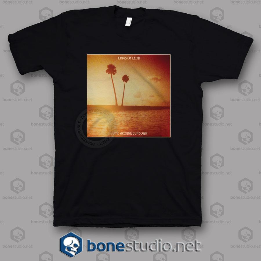 Come Around Sundown Kings Of Leon Band T Shirt