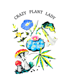 Crazy Plant Lady T Shirt