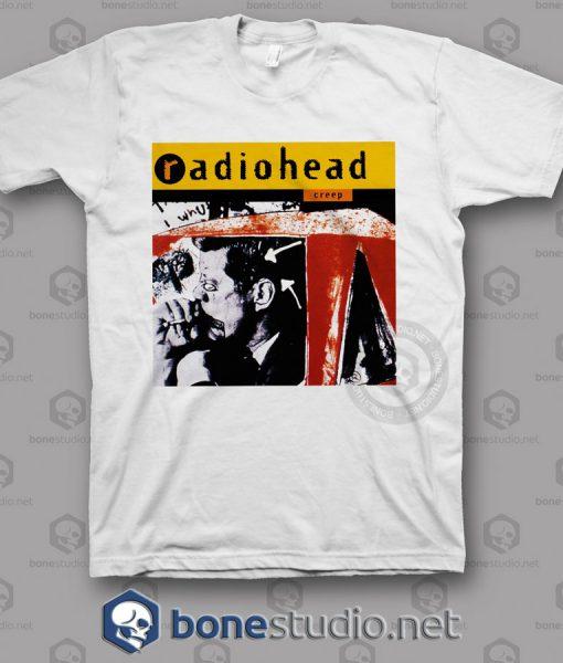 Creep Radiohead Band T Shirt