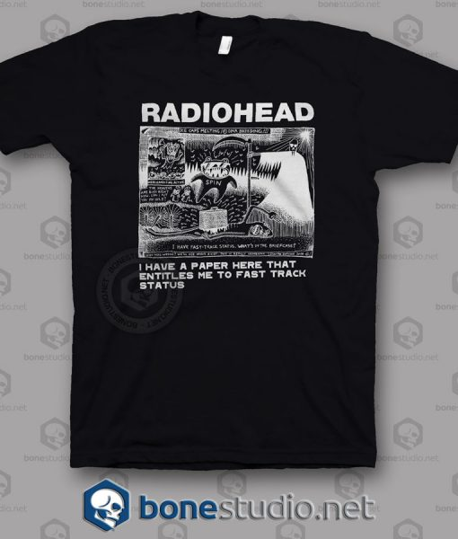 Dead Children Playing Radiohead Band T Shirt