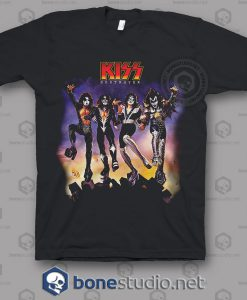 Destroyer Kiss Band T Shirt