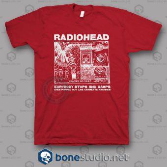 Everybody Stops And Gawps Radiohead Band T Shirt