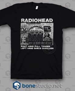 Everything In It's Right Place Radiohead Band T Shirt
