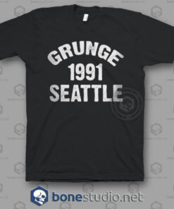 Grunge 1991 Seattle Nirvana Band T Shirt