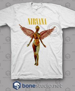 In Utero Nirvana Band T Shirt