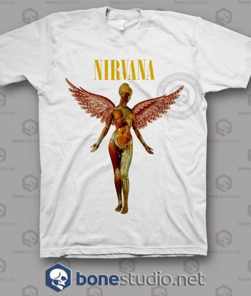 In Utero Nirvana Band T Shirt