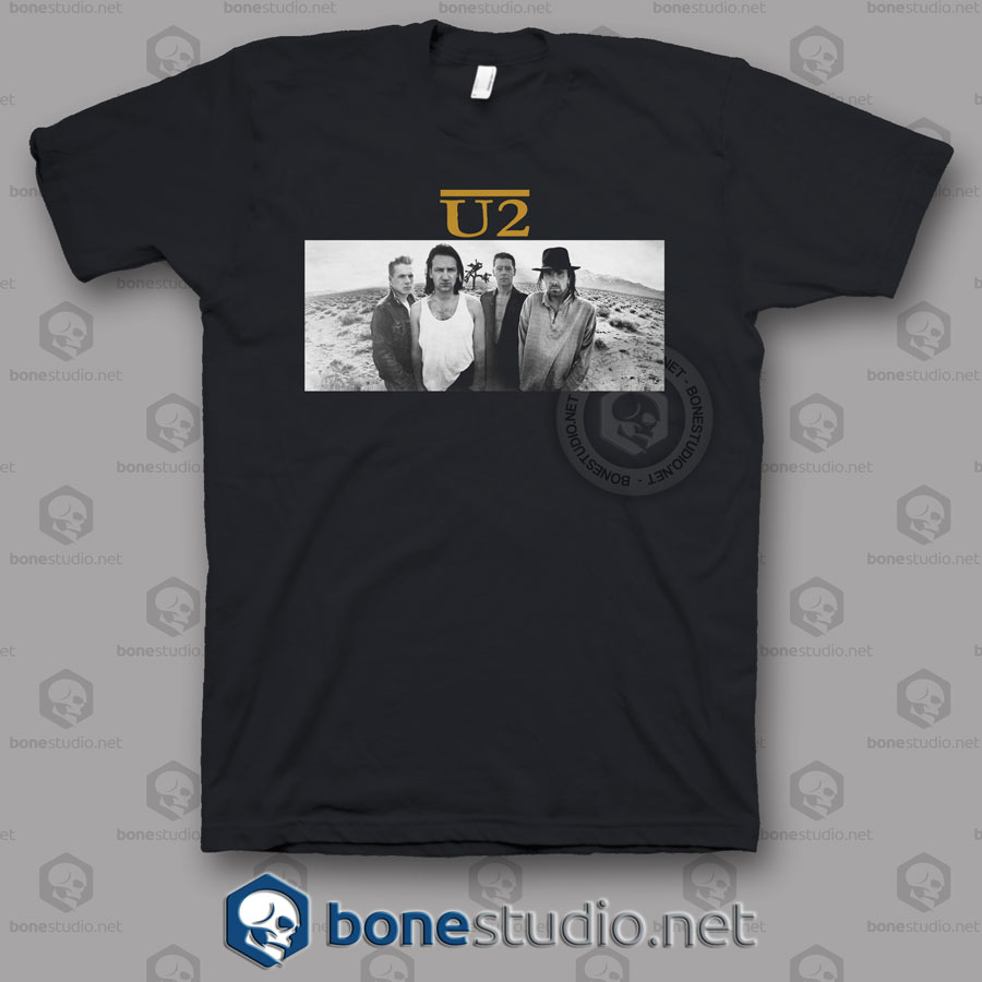 Joshua Tree U2 Band T Shirt