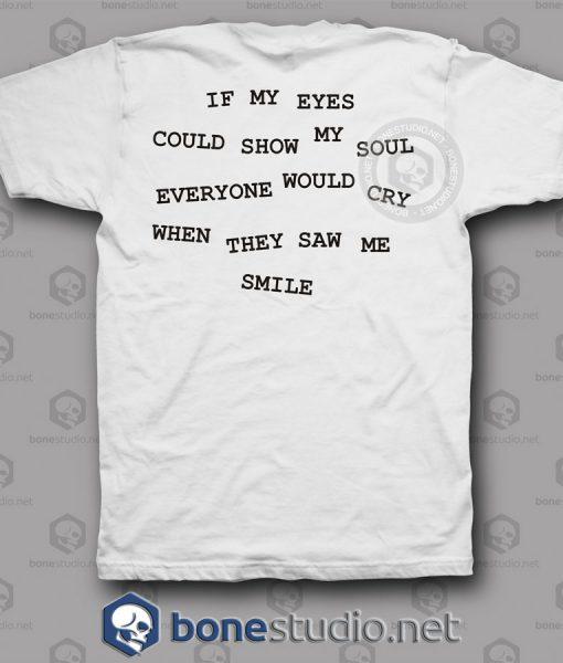 Kurt Cobain Quotes Nirvana Band T Shirt