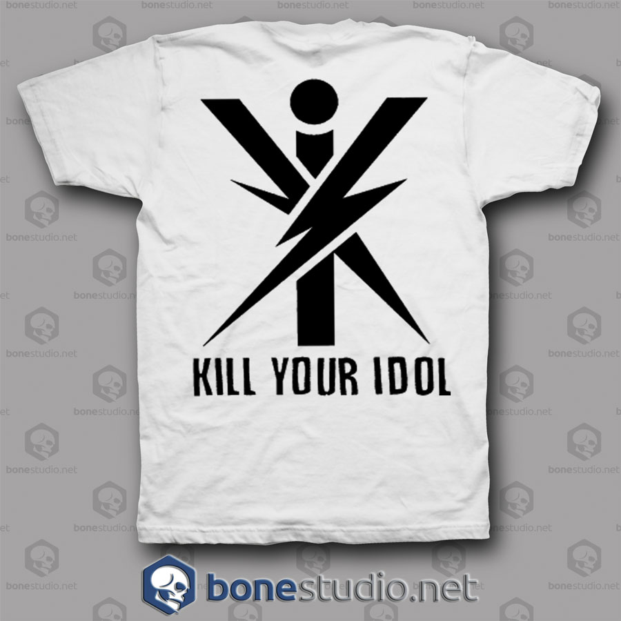 Kill Your Idols Axl Rose Style Guns N Roses T Shirt