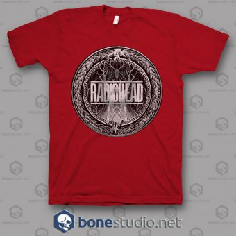 King Of Limbs Radiohead Band T Shirt
