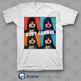 Kurt Cobain Art Nirvana Band T Shirt