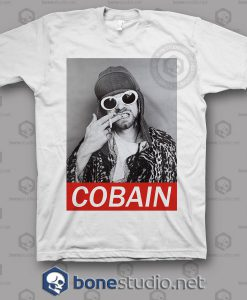 Kurt Cobain Freak Nirvana Band T Shirt