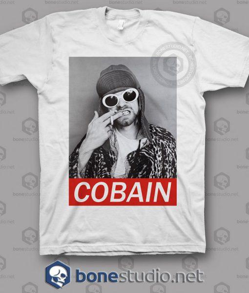 Kurt Cobain Freak Nirvana Band T Shirt