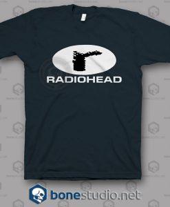 Logo 90s Radiohead Band T Shirt