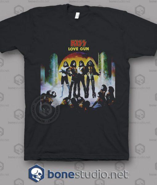 Love Gun Kiss Band T Shirt
