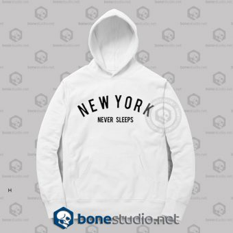 New York Never Sleeps Hoodies