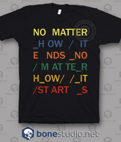 No Matter In Rainbows Radiohead Band T Shirt