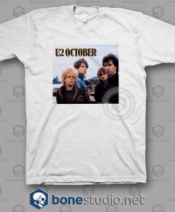 October U2 Band T Shirt