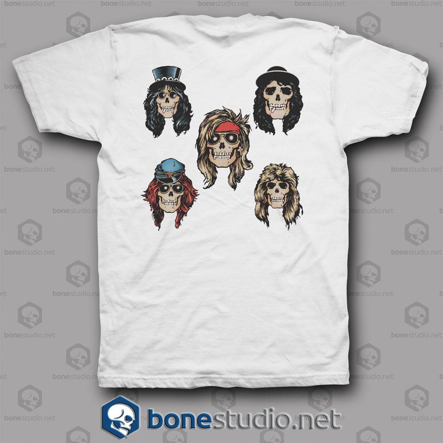 Old Guns N Roses Band T Shirt