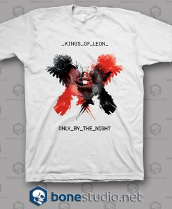 Only By The Night Kings Of Leon Band T Shirt